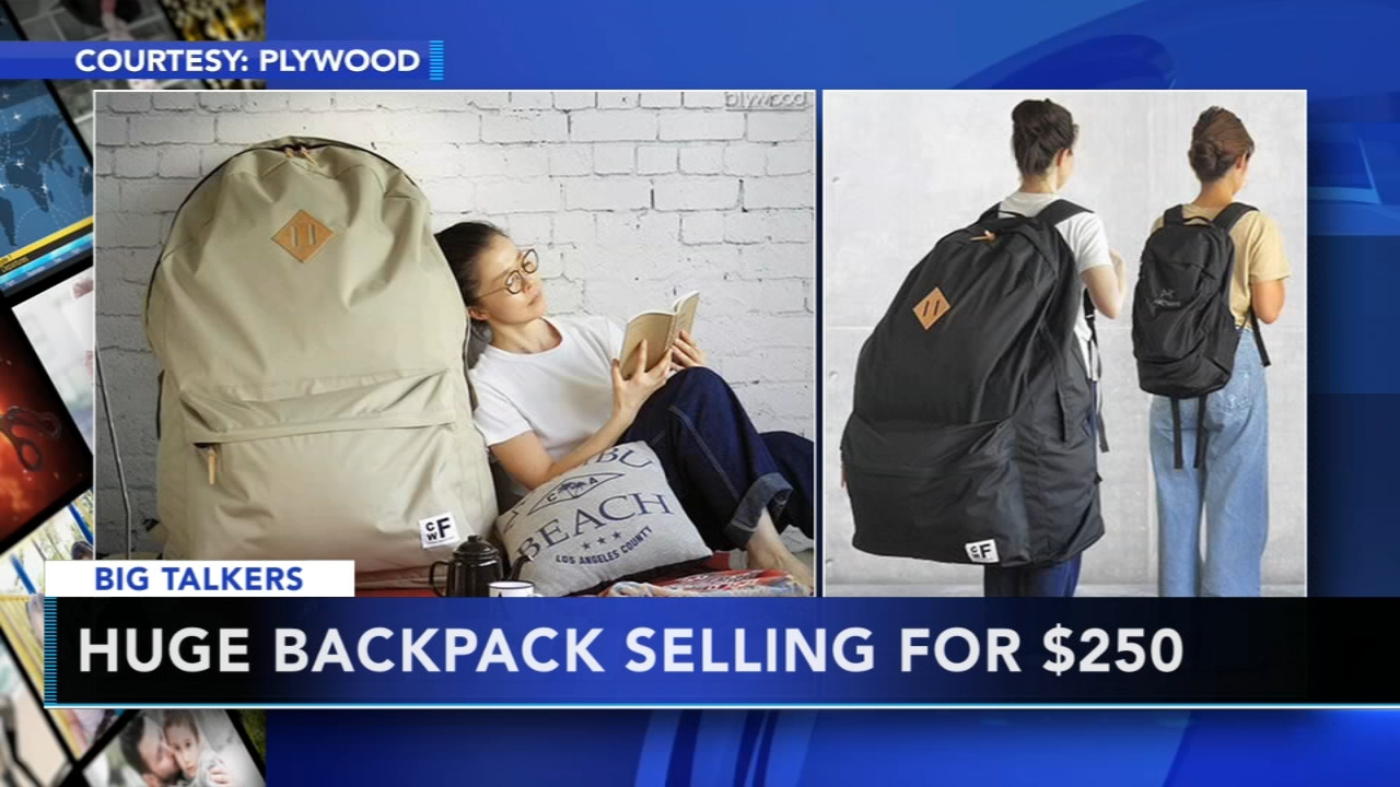 Japanese company selling giant Backpackers Closet. Alicia Vitarelli reports during Action News at 4 p.m. on January 4, 2019.