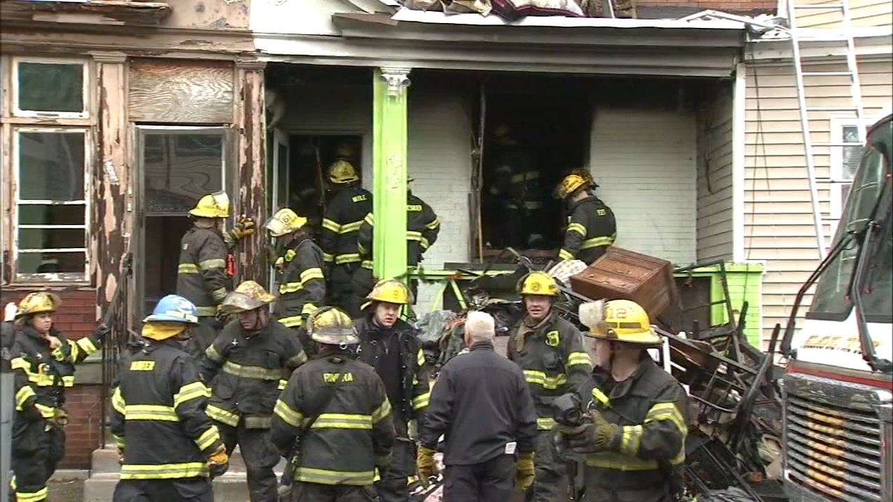 Grandmother, 2 grandchildren killed in Hunting Park house blaze. Maggie Kent reports during Action News at 10 p.m. on January 5, 2019.