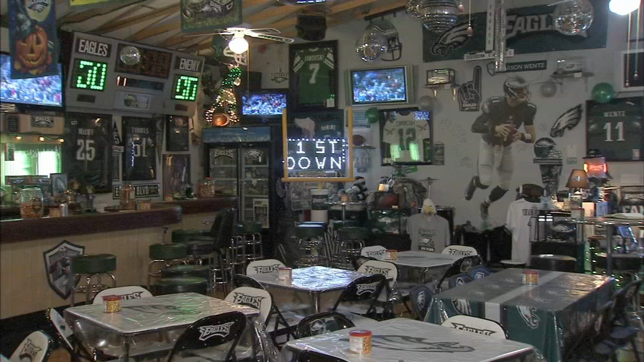 Reading man has the ultimate Eagles Man Cave. Jeff Chirico reports during Action News at 6 a.m. on January 5, 2019.