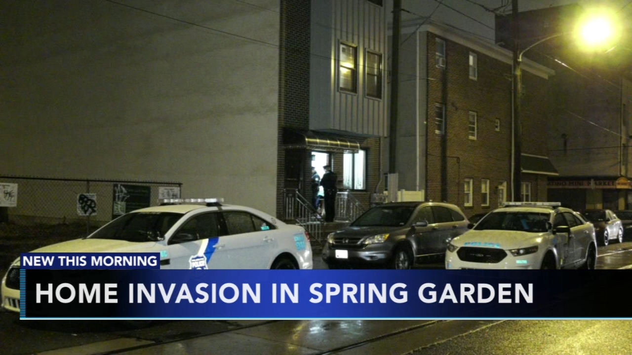 Suspects sought for Spring Garden home invasion. Gray Hall reports during Action News at 6 a.m. on January 5, 2019.