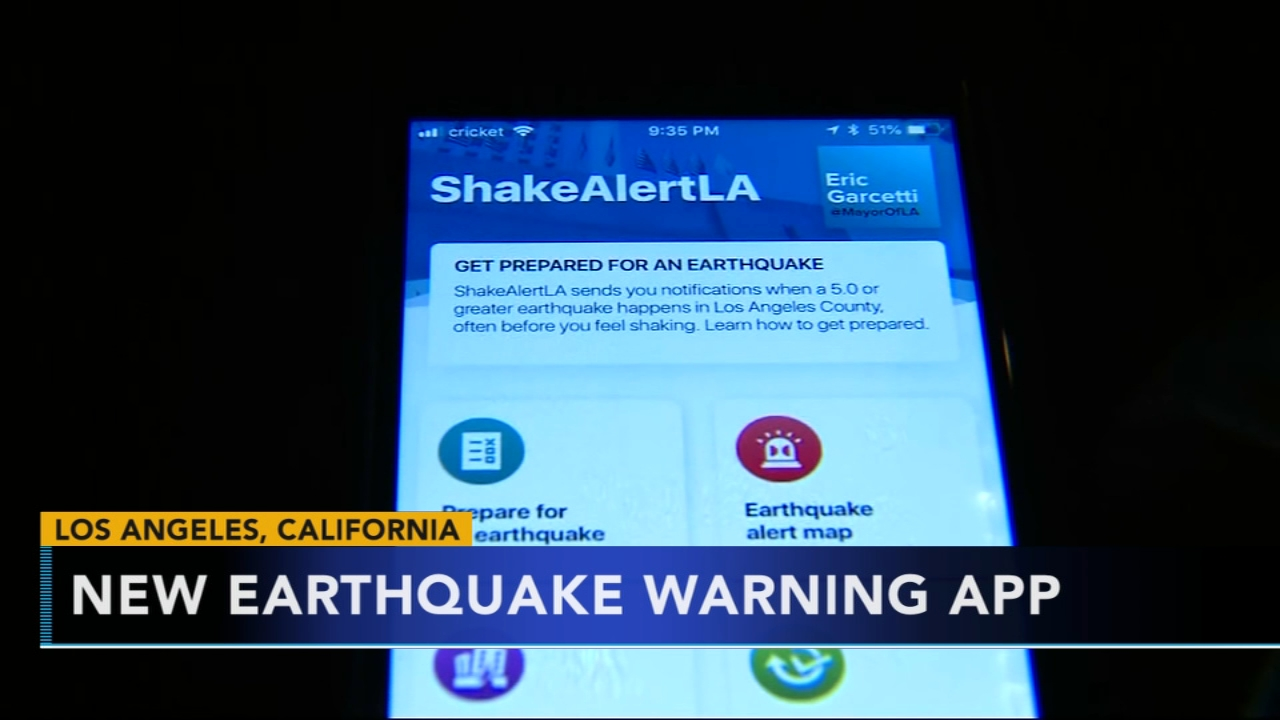 Earthquake warning app unveiled in California. Nydia Han reports during Action News at 9 a.m. on January 6, 2019.