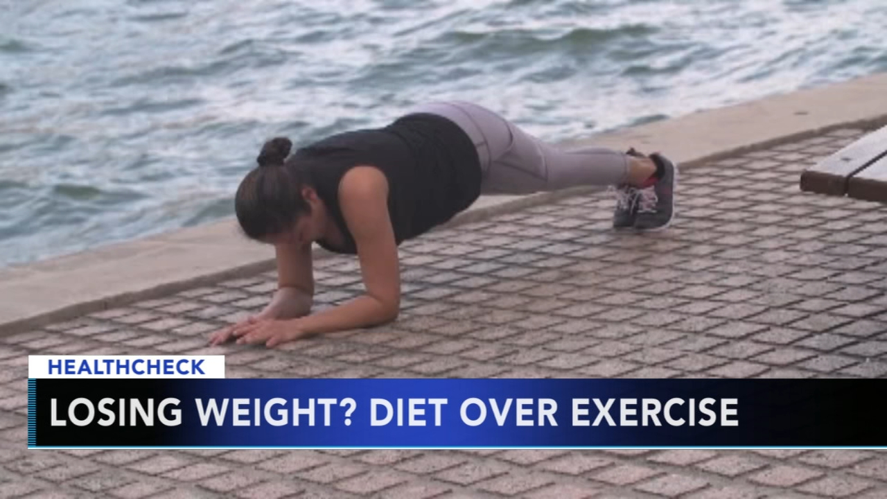 Experts say diet is more important than exercise for weight loss. Gray Hall reports during Action News at 7 a.m. on January 6, 2019.