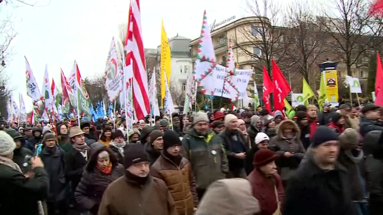 Hungary: Union calls for strike, protests over labor law. Gray Hall reports during Action News at 9 a.m. on January 6, 2019.