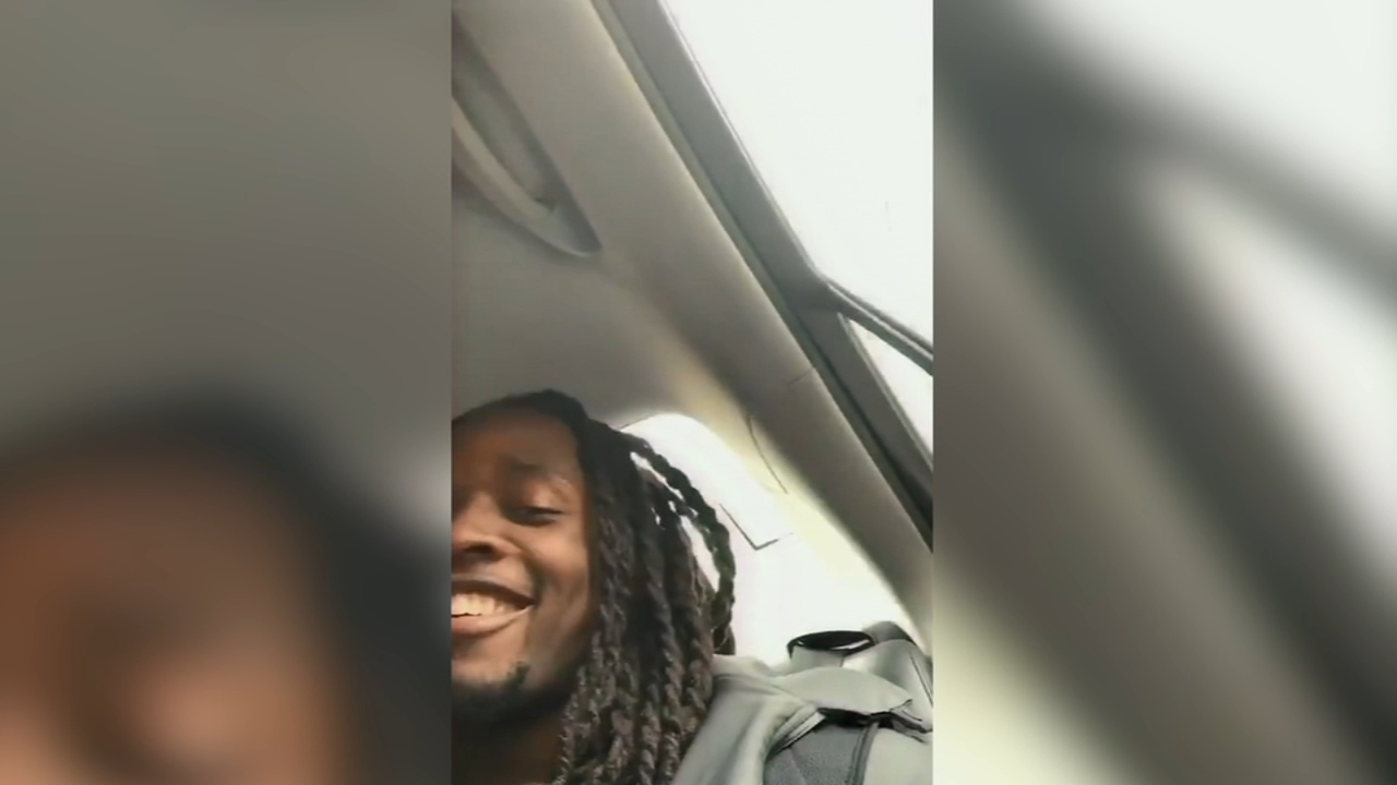Chargers Melvin Gordon has fun with Uber driver after landing in Baltimore. Nydia Han reports during Action News at 10 a.m. on January 6, 2019.