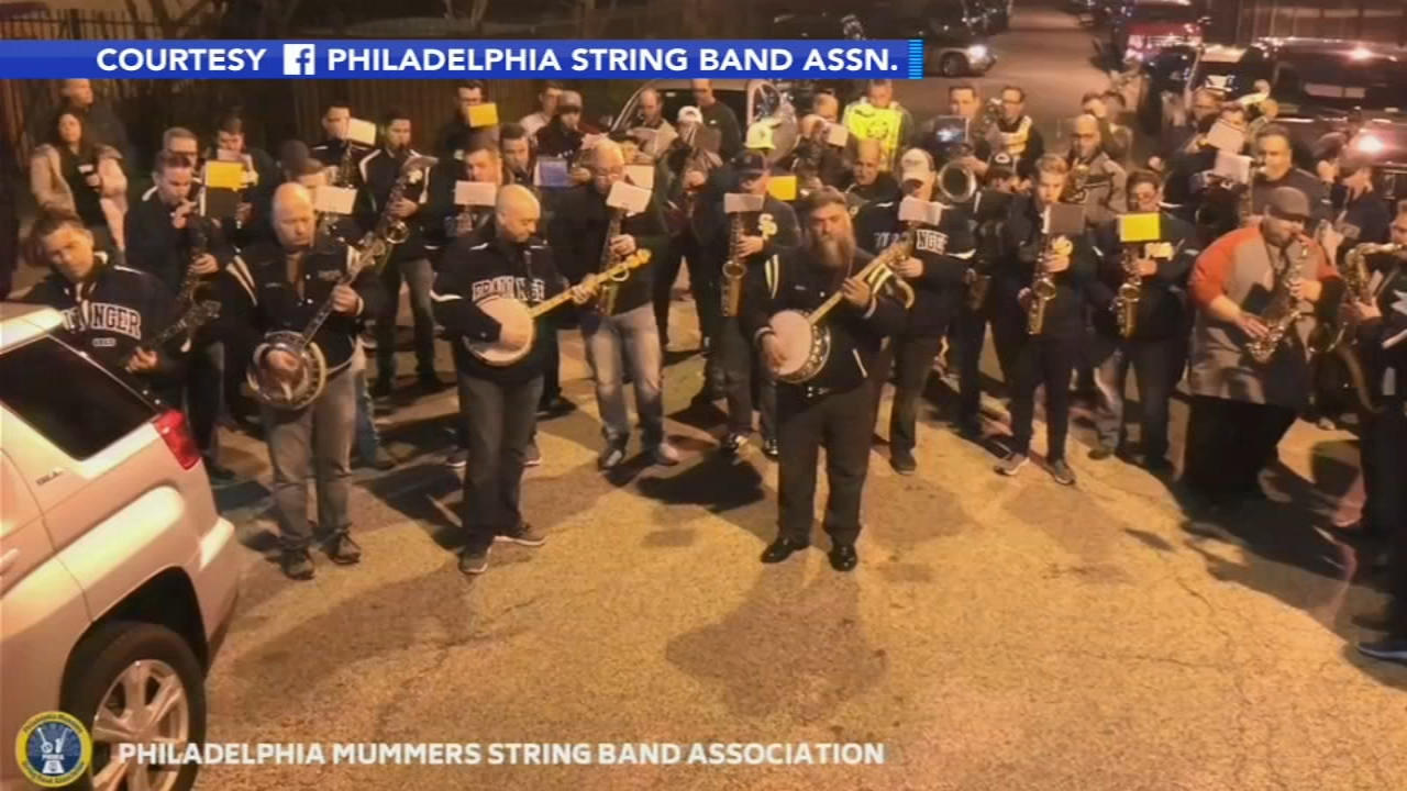 Mummers pay tribute to members who died in crash. Nydia Han reports during Action News at 6 a.m. on January 6, 2019.