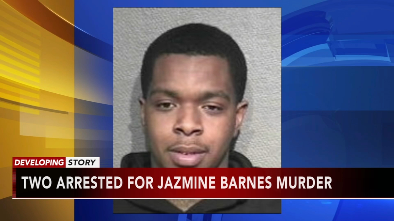 Suspects fired into Jazmine Barnes car by mistake, documents state. Nydia Han reports during Action News at noon on January 6, 2019.