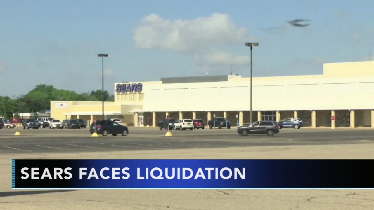 Sears faces liquidation. Rick Williams reports during Action News at Noon on January 7, 2019.