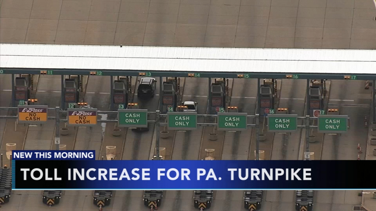 Toll increase for Pa. Turnpike. Tamala Edwards reports during Action News Mornings on January 7, 2019.