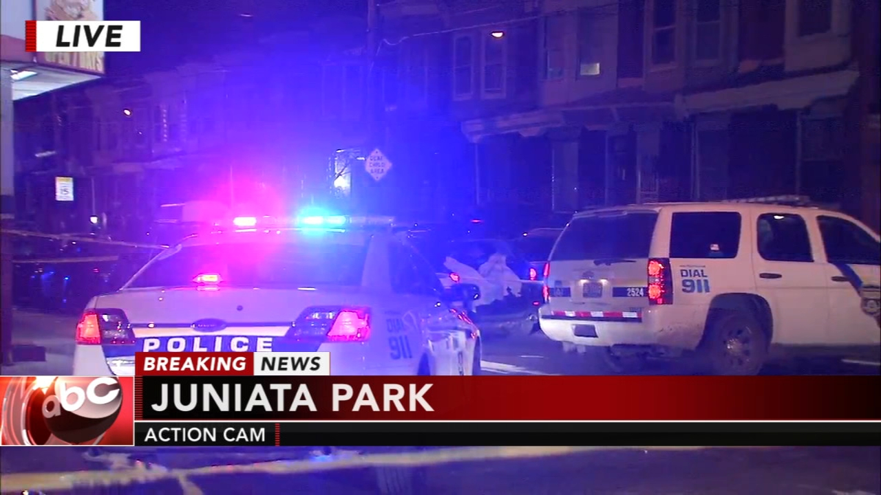 Triple shooting in Juniata Park. Jeannette Reyes reports during Action News Mornings on January 7, 2019.