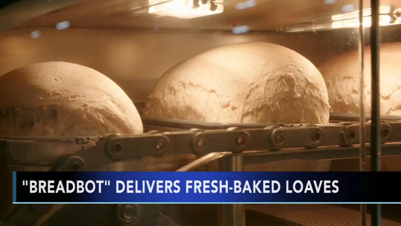The BreadBot is a vending machine that mixes, forms, proofs, bakes and cools bread all on its own.