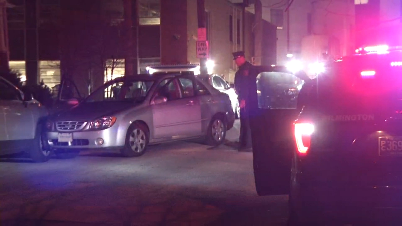 Woman shot multiple times crashes in Wilmington: as seen on Action News at 4 p.m., January 8, 2019
