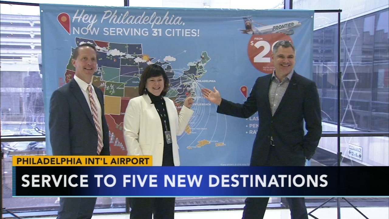 You now have more options when it comes to traveling in and out of Philadelphia as reported during Action News at 4 on January 8, 2019..