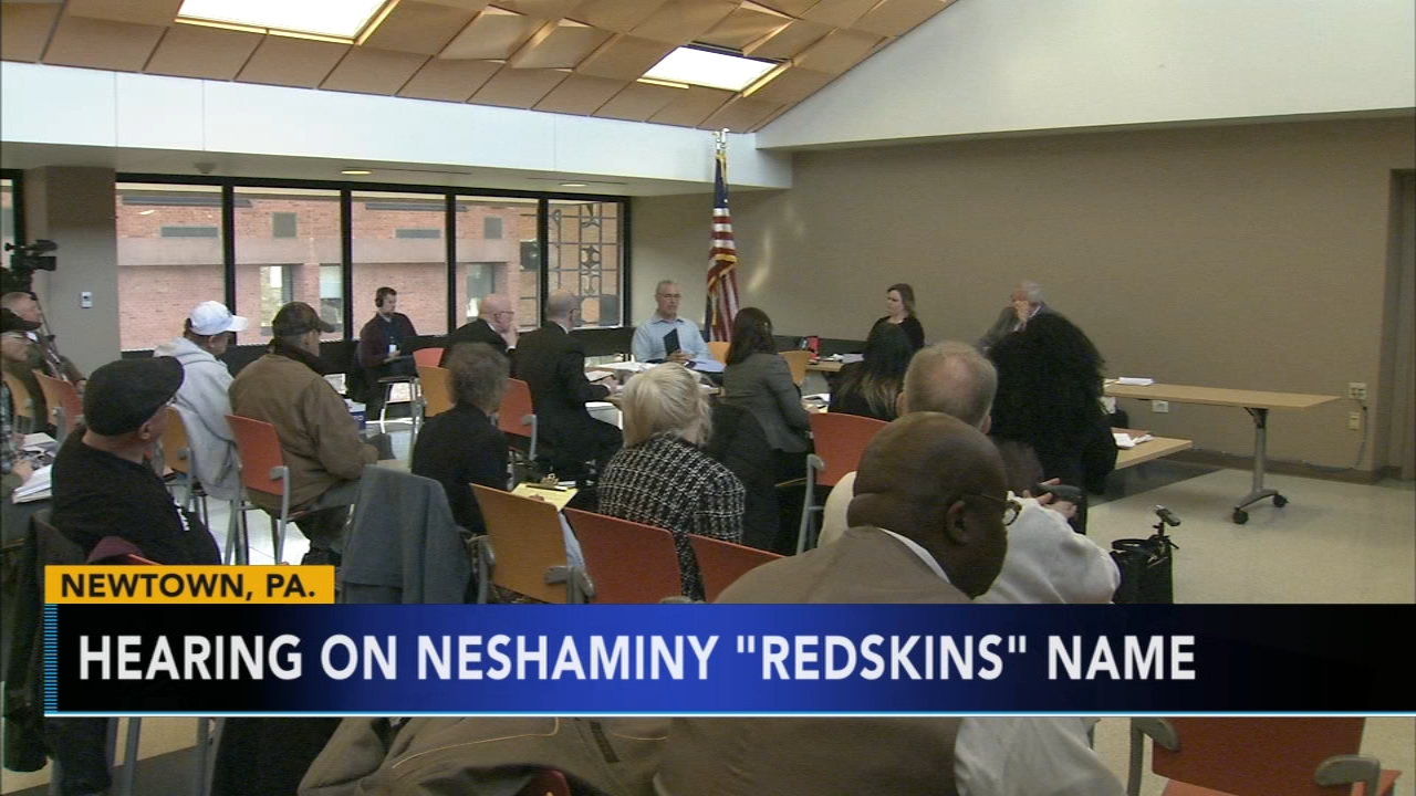 Neshaminy School District discussing mascot change. Matt ODonnell reports during Action News Mornings on January 8, 2019.