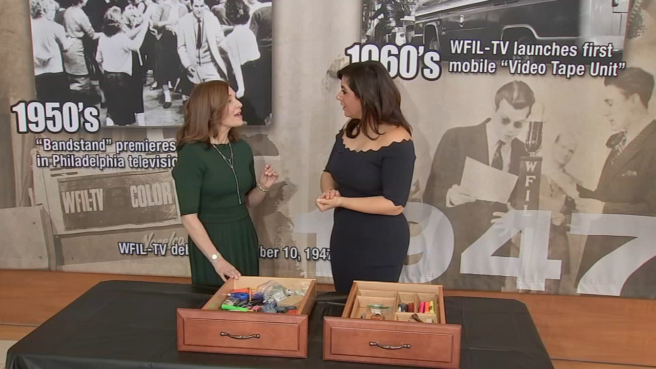 Whats the Deal: Getting organized in 5 minutes or less - Alicia Vitarelli reports during Action News at 4:30pm on January 9, 2019.