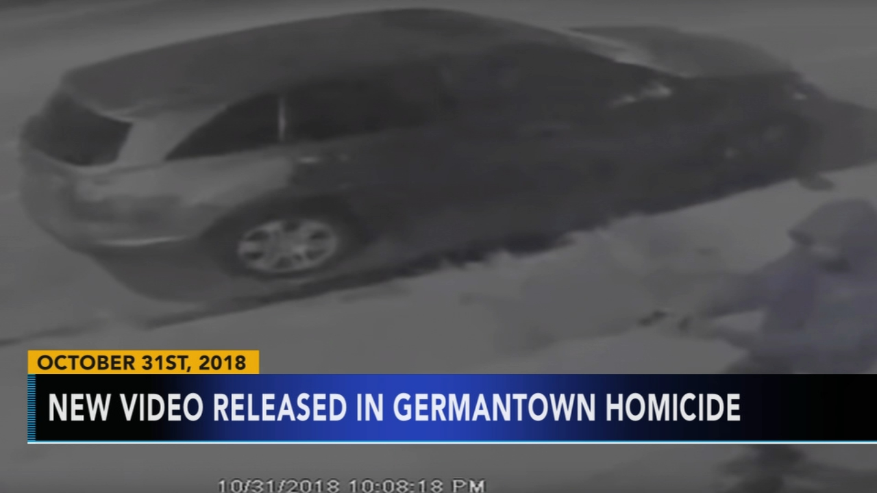 Police release new video in Germantown homicide. Sharrie Williams reports during Action News at 4:30 p.m. on January 10, 2019.