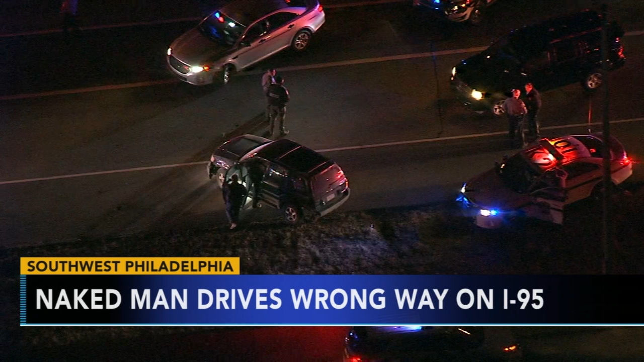 Police ID naked man in wrong way crash on I-95. Tamala Edwards reports during Action News Mornings on January 10, 2019.