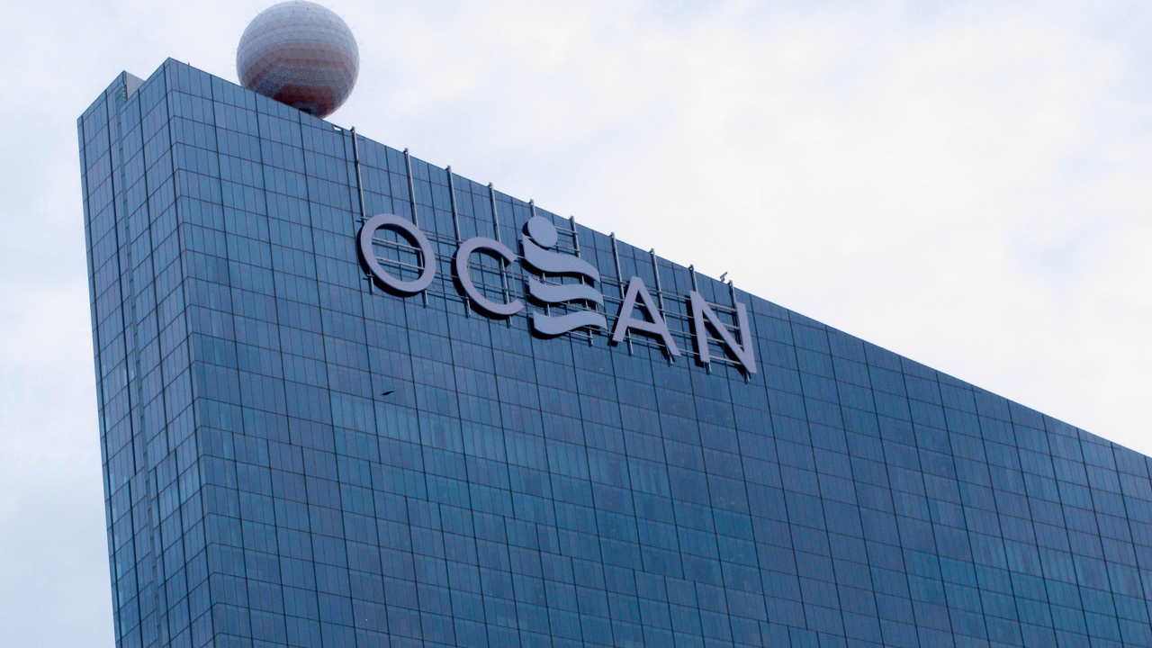 This Sept. 27, 2018, photo shows the exterior of the Ocean Resort Casino in Atlantic City N.J.