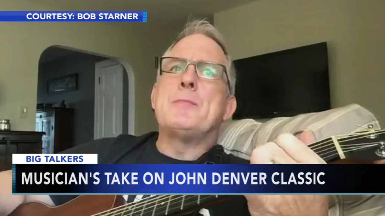Chester County musician puts Eagles twist on John Denver classic. Alicia Vitarelli reports during Action News at 4 p.m. on January 11, 2019.
