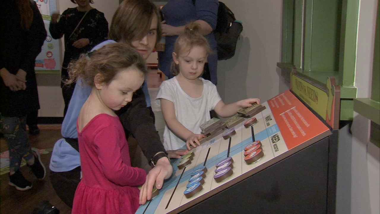 Please Touch Museum has a new exhibit for little ones to explore math and money as reported during Action News at 5 on January 11, 2019..