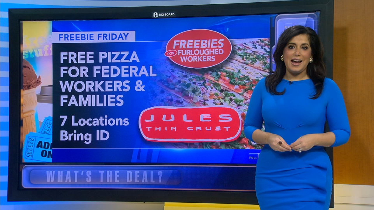 Alicia Vitarelli breaks down all your freebies this Friday during Action News at 4:30pm on January 11, 2019.