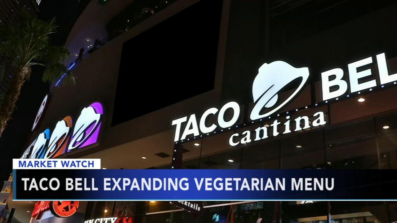 Taco Bell expanding vegetarian menu