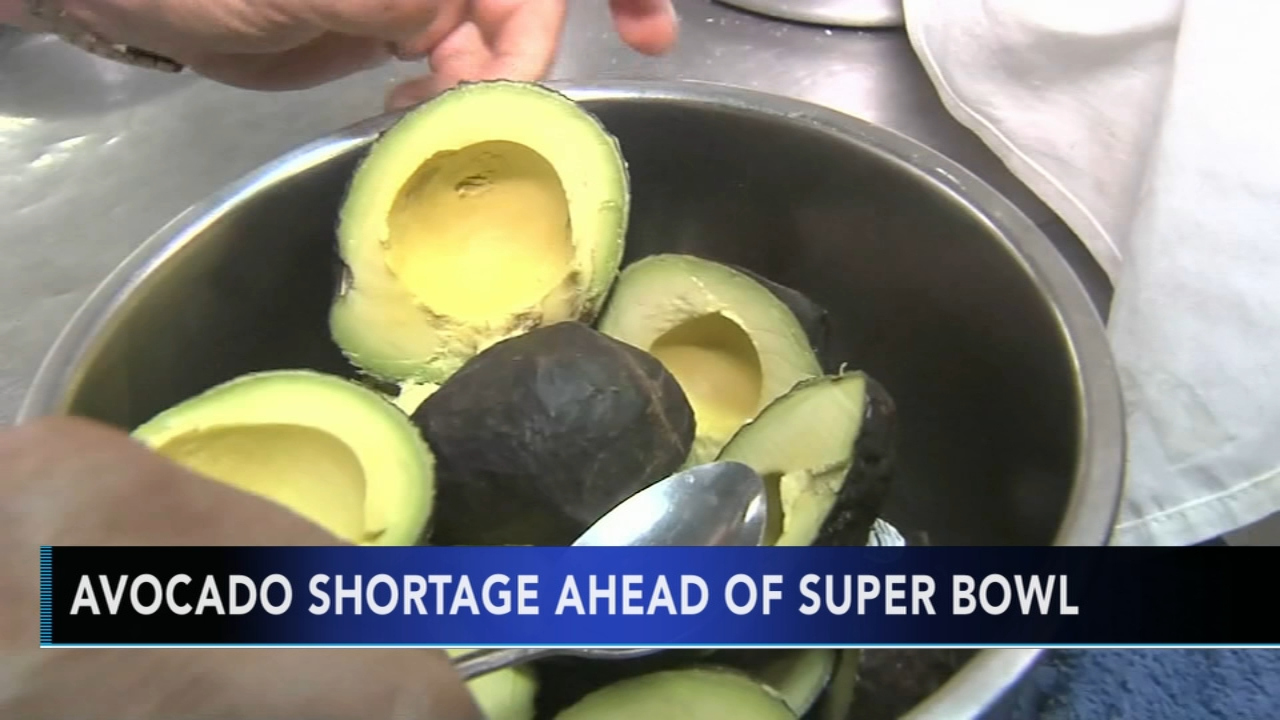 US sees avocado shortage ahead of the Super Bowl. Gray Hall reports during Action News at 6 a.m. on January 12, 2019.