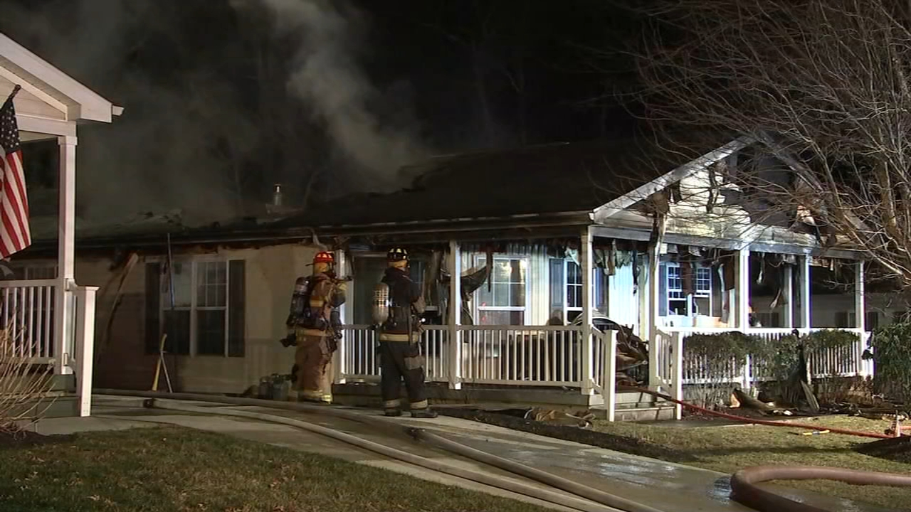 Fire damages home in Atlantic County. Gray Hall reports during Action News at 6 a.m. on January 12, 2019.