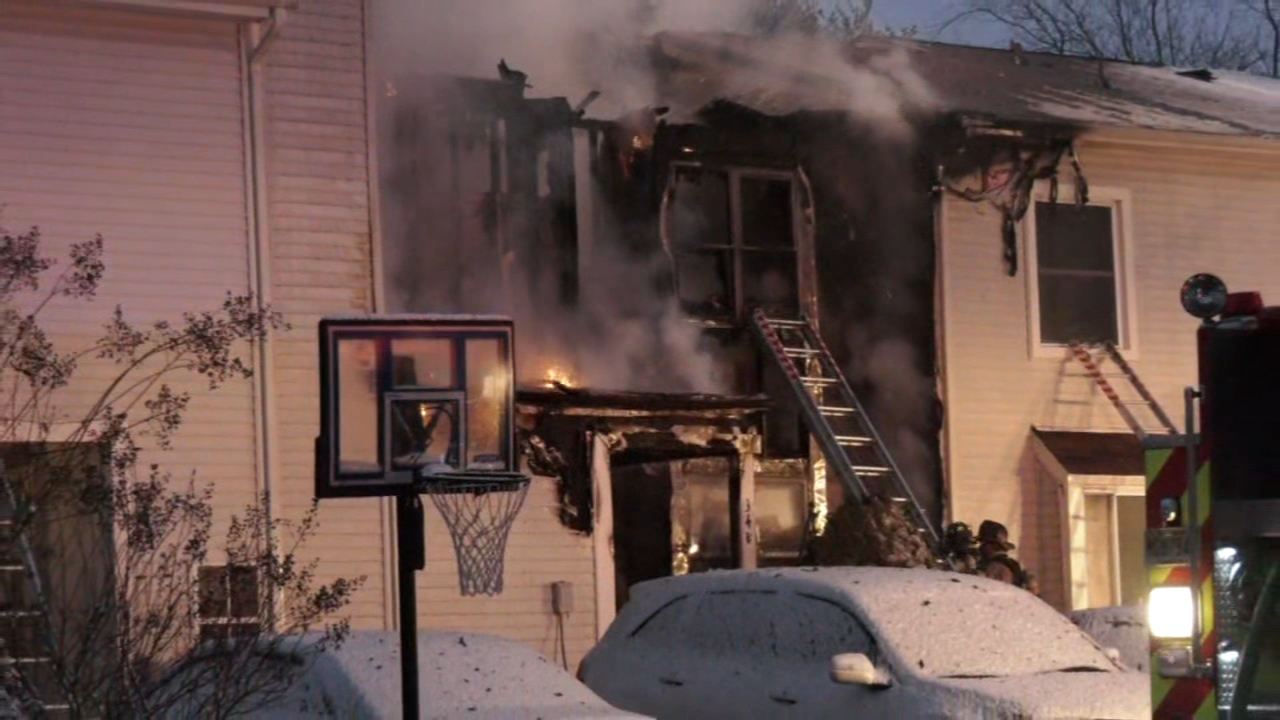 Several townhomes damage in Evesham Twp. fire. Watch this report from Action News Mornings on January 13, 2019.