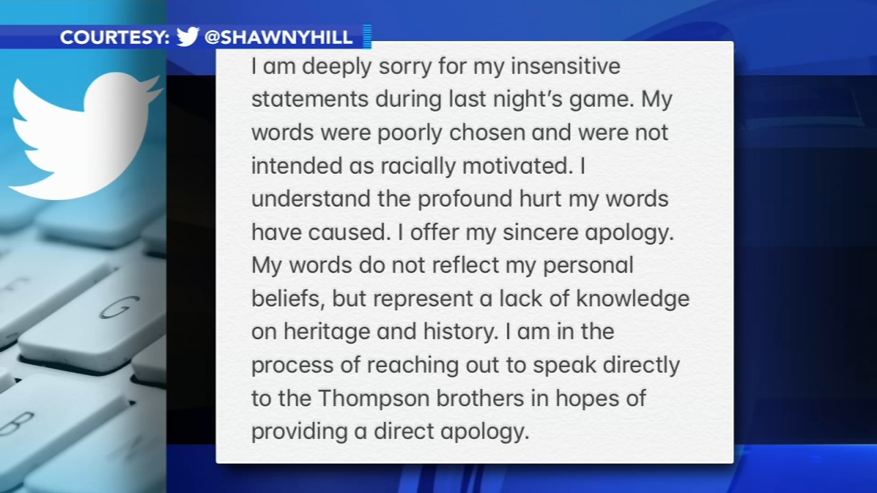 Philadelphia Wings announcer apologizes for racists remarks: as seen on Action News at 11 p.m., January 13, 2019
