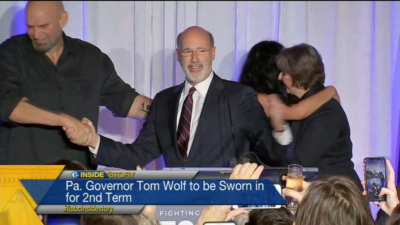 The Insiders discuss the upcoming inauguration of PA Governor Tom Wolf and his new Lt. Governor John Fetterman.