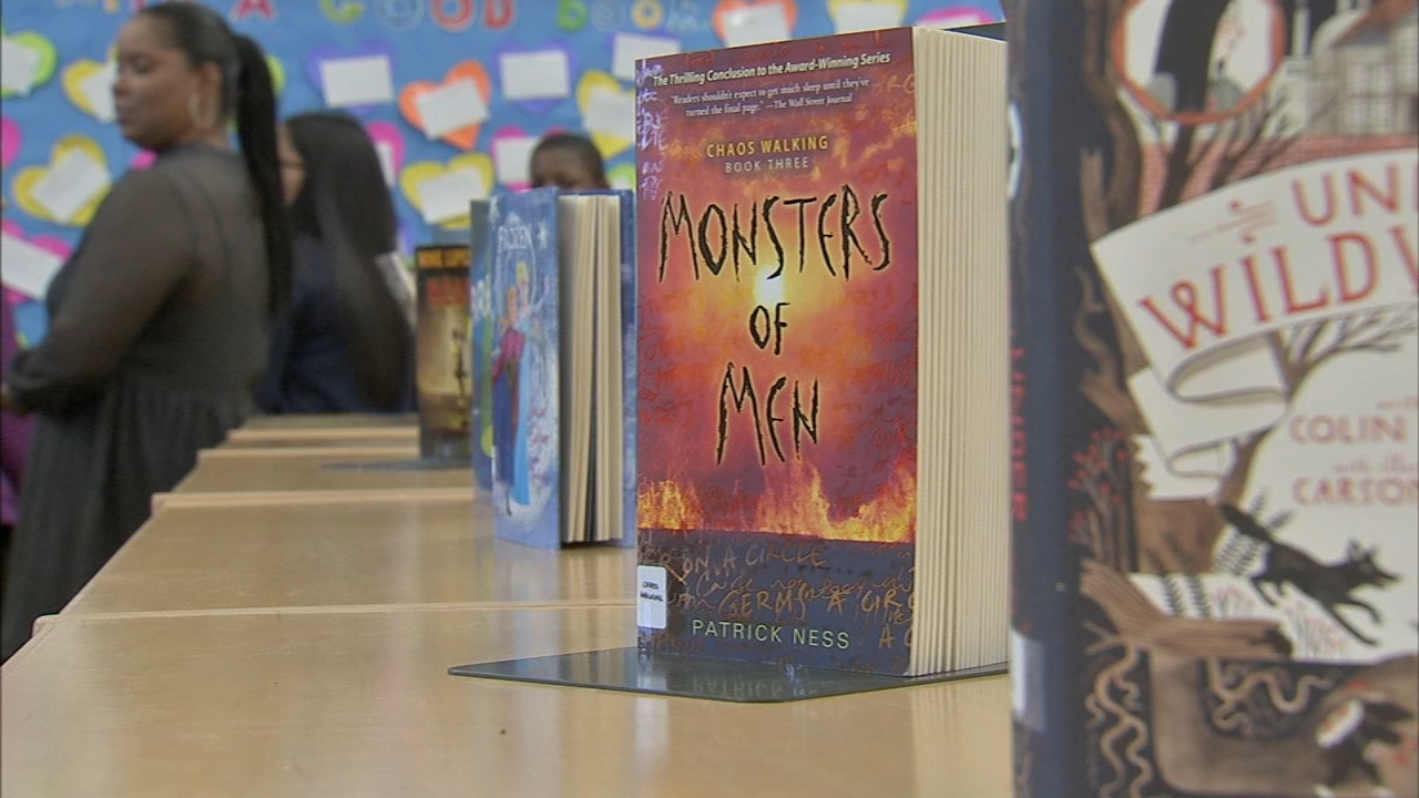 Bache Martin Schools 10,000 books will help students as reported during Action News at 4 on January 14, 2019.