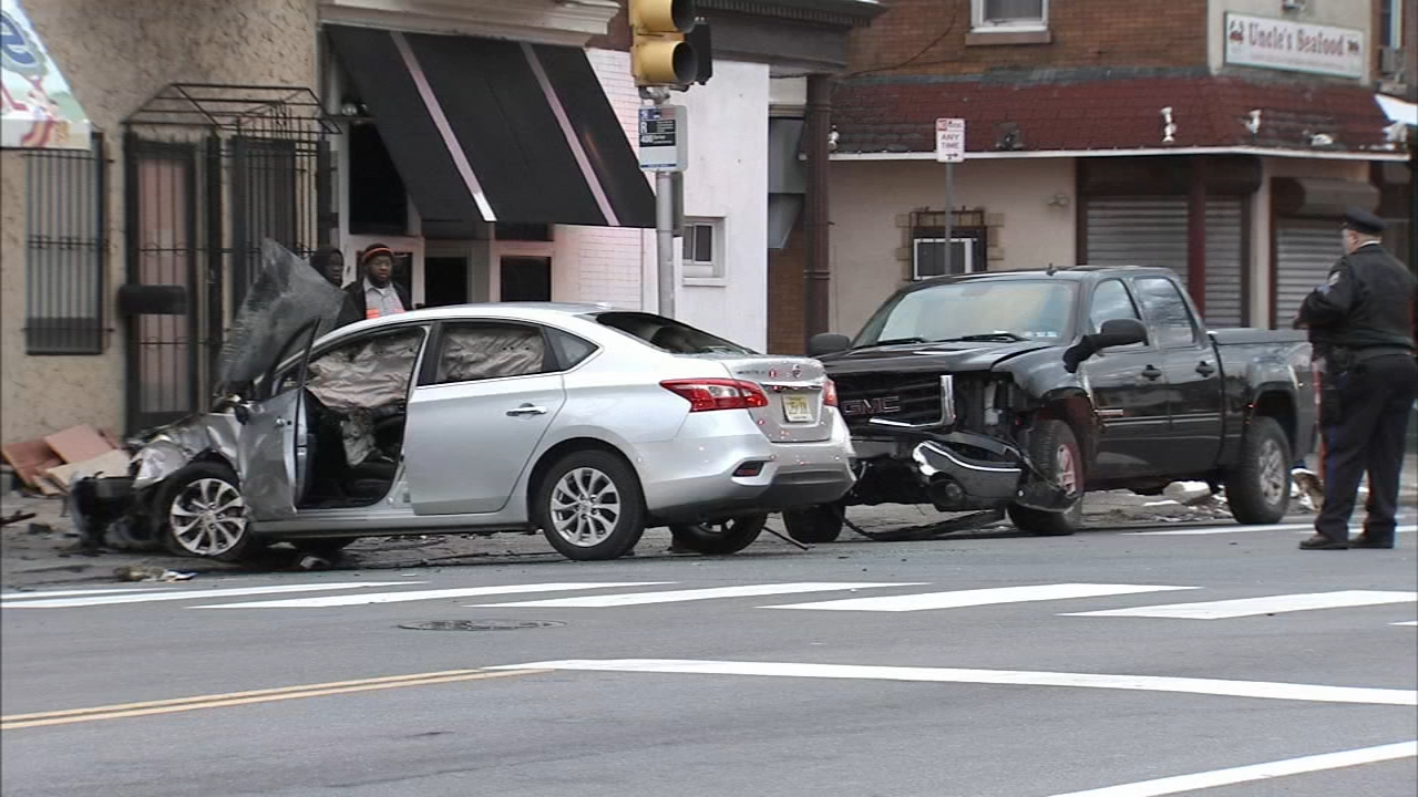 Drivers injured in Tioga-Nicetown crash. Tamala Edwards reports during Action News Mornings on January 14, 2019.