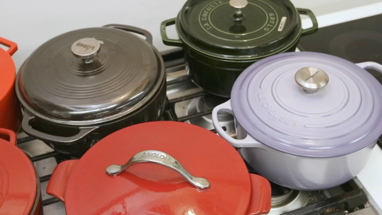 Consumer Reports tests best Dutch oven cookers: Sharrie Williams reports during Action News at 4:30pm on January 14, 2019.