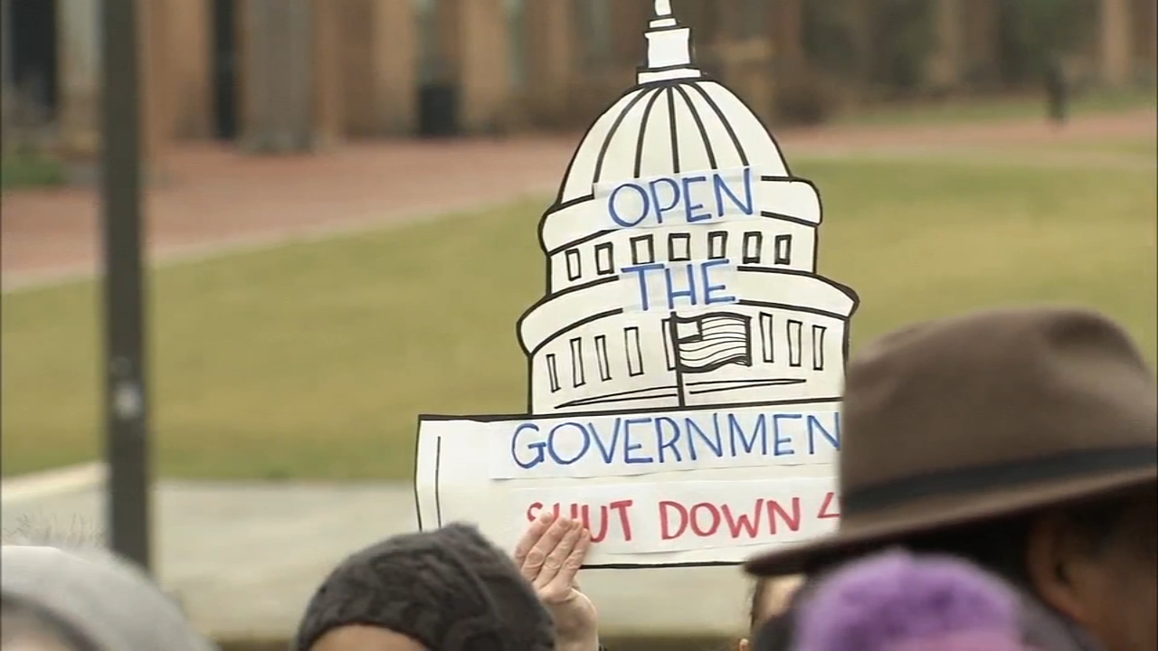 Partial government shutdowns local impact: John Rawlins reports on Action News at 5 p.m., January 15, 2019