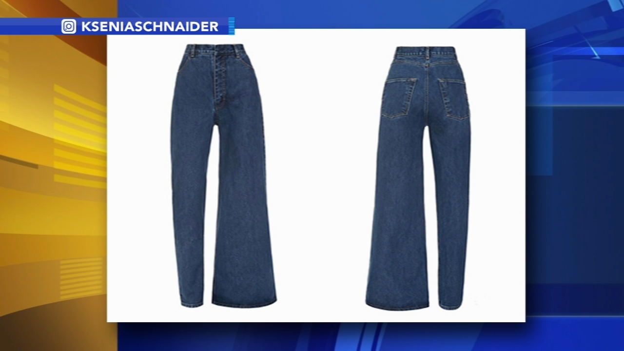 Designer creates asymmetrical jeans: as seen on Action News at 4 p.m., January 15, 2019