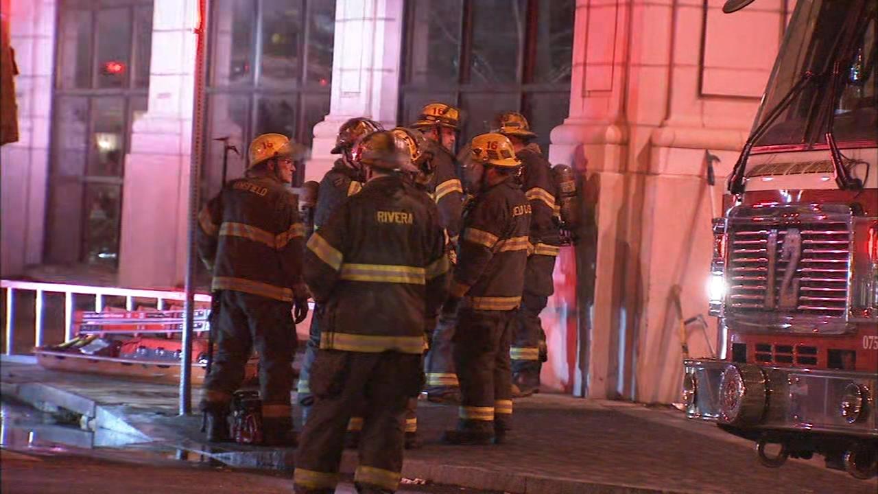 Fire closes school