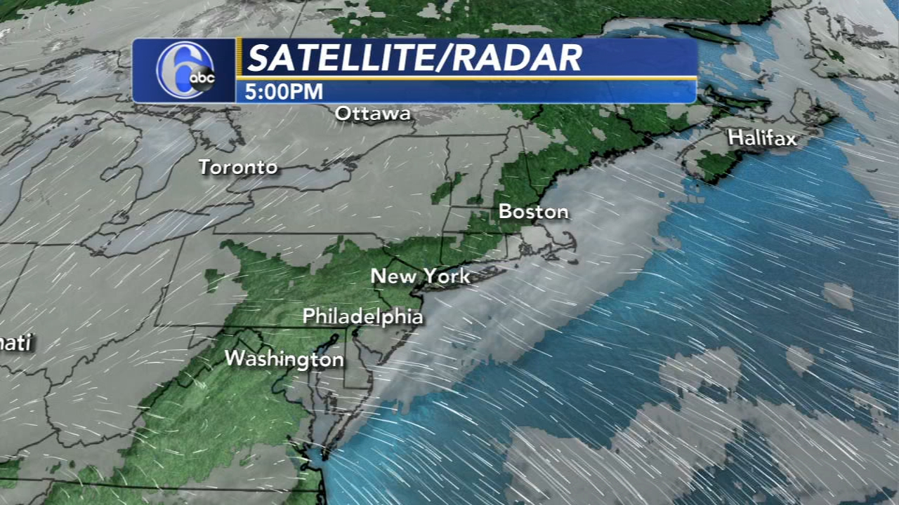 Cecily Tynan reports on AccuWeather during Action News at 6 p.m. on January 15, 2019.