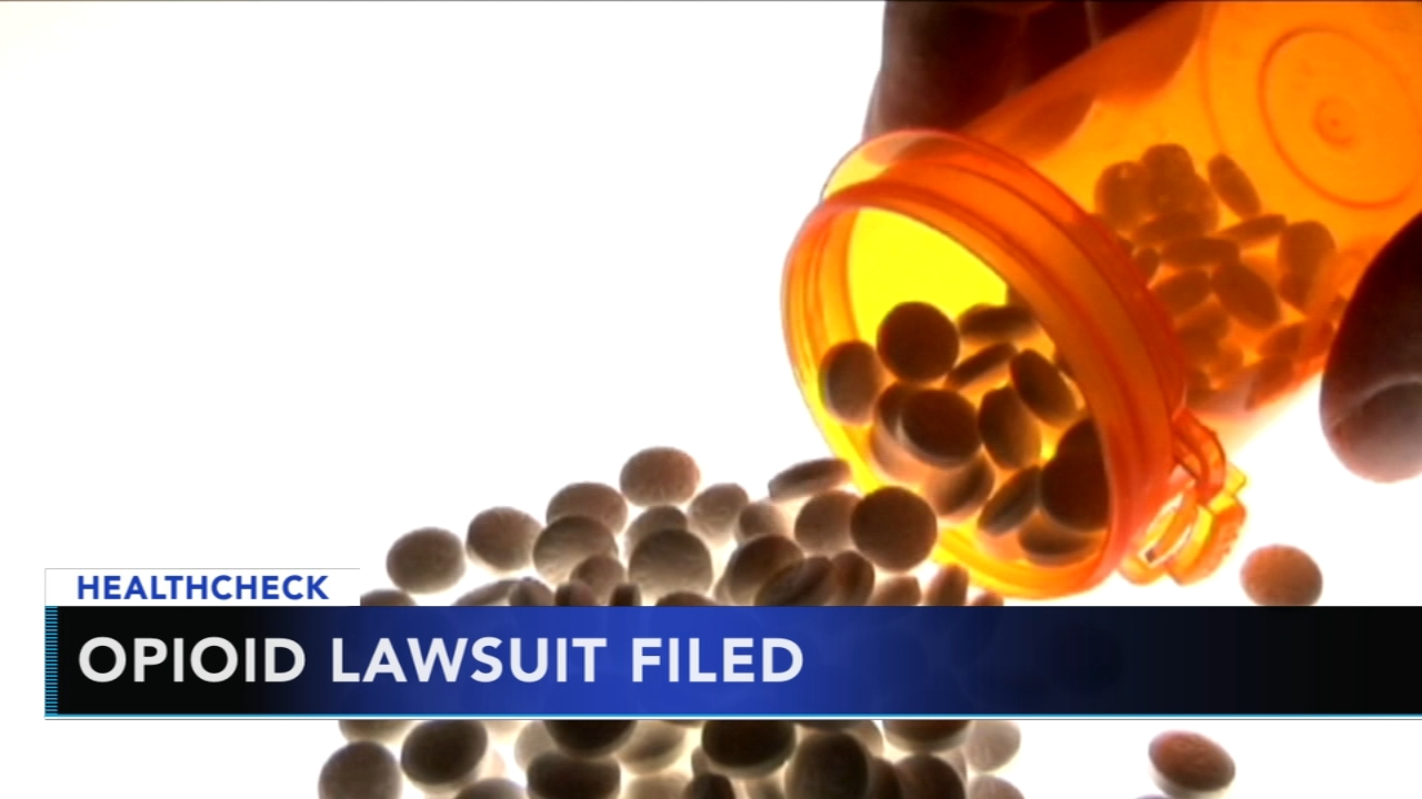 Chester County files lawsuit against opioid drug manufacturers - Ali Gorman reports during Action News at 5pm on January 15, 2019.
