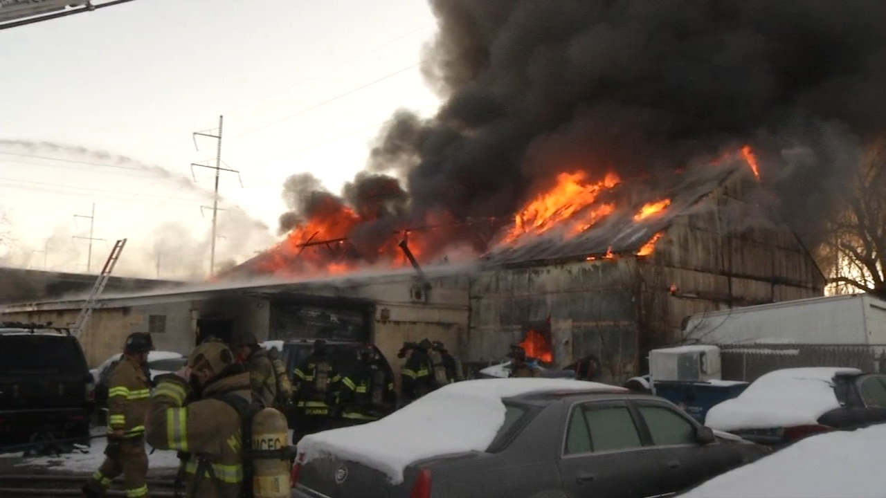 Firefighter injured battling business fire in Stanton, Del. Watch this report on Action News at Noon on January 15, 2019.