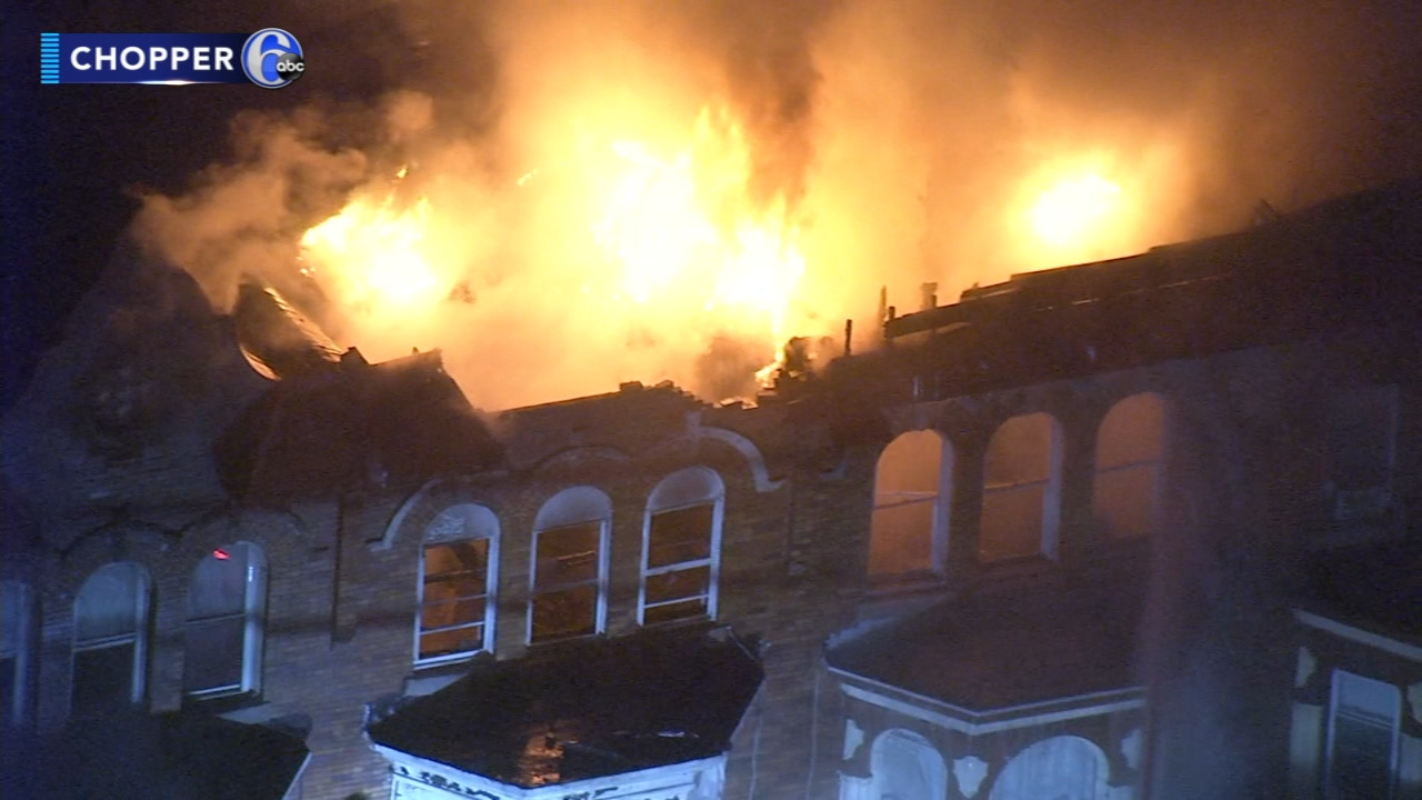 Flames broke out just after 5:30 p.m. in a home on the unit block of Colonial Avenue as reported during Action News at 11 on January 15, 2019..