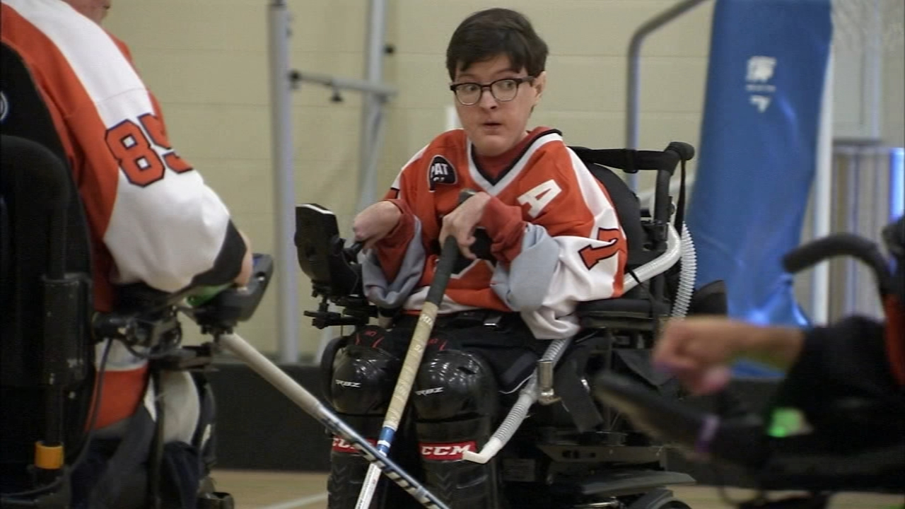 Flyers Powerplay: Champions with heart: Alicia Vitarelli reports on Action News at 4 p.m., January 15, 2019