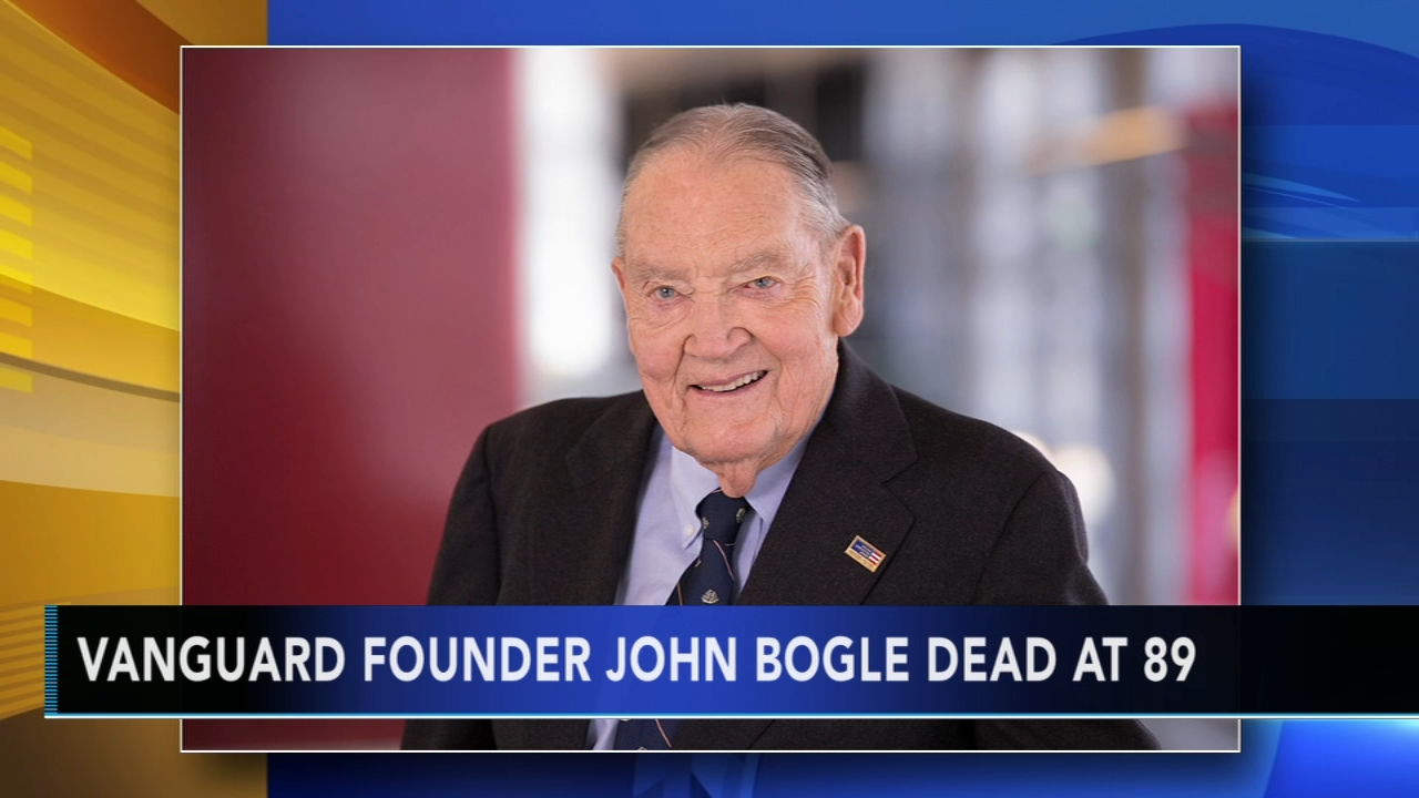 John Bogle dead at 89: as seen on Action News at 11 p.m., January 16, 2019