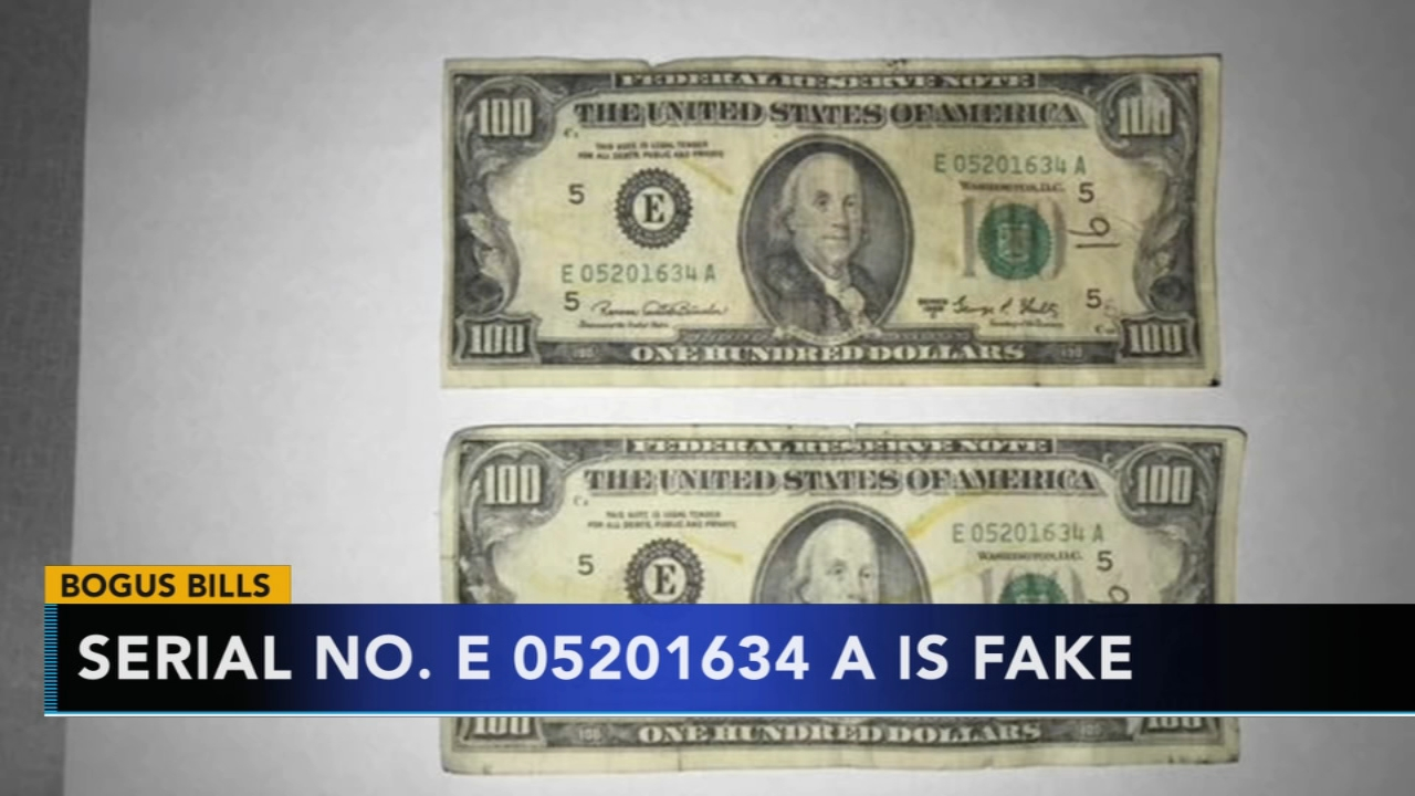 Police warn of bogus $100 bills in Delco. Matt ODonnell reports during Action News Mornings on January 16, 2019.