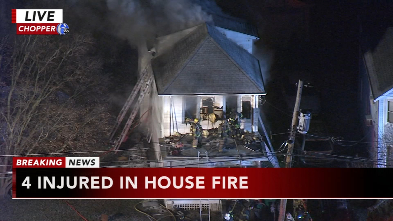 4 injured in Bristol Township fire. Matt ODonnell reports during Action News Mornings on January 16, 2019.