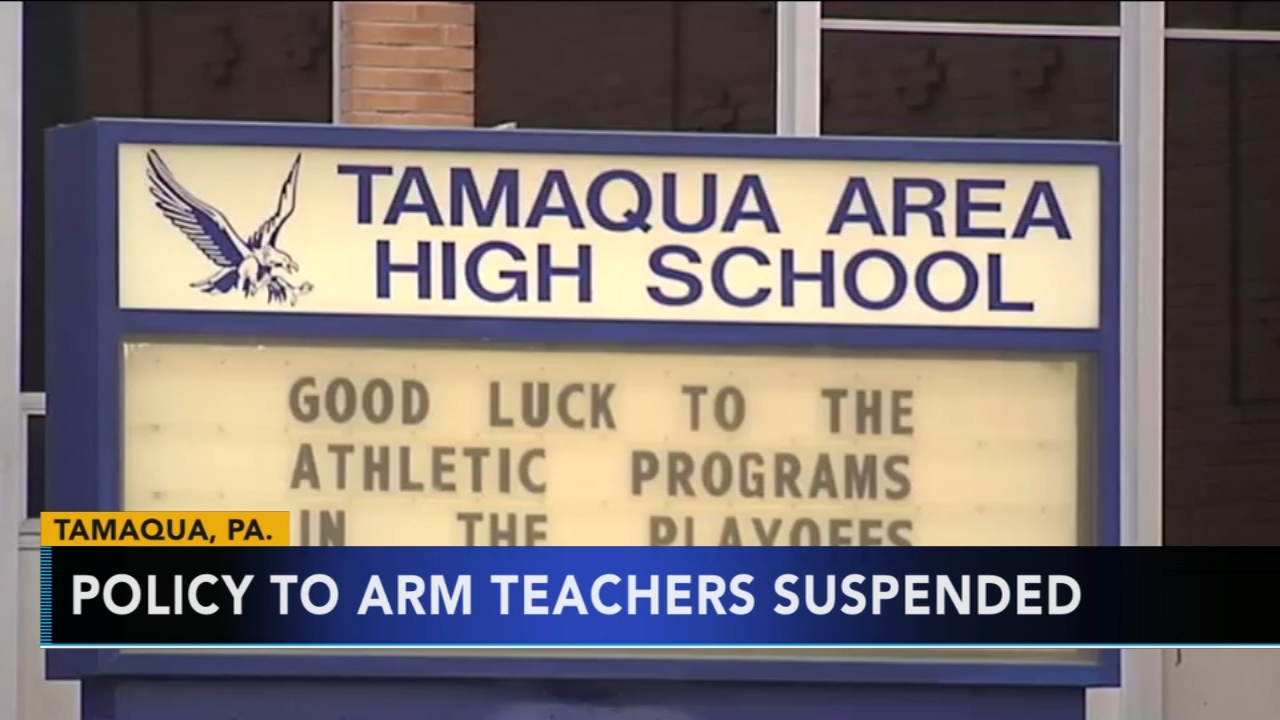 School board votes to postpone policy to arm teachers. Tamala Edwards reports during Action News Mornings on January 16, 2019.
