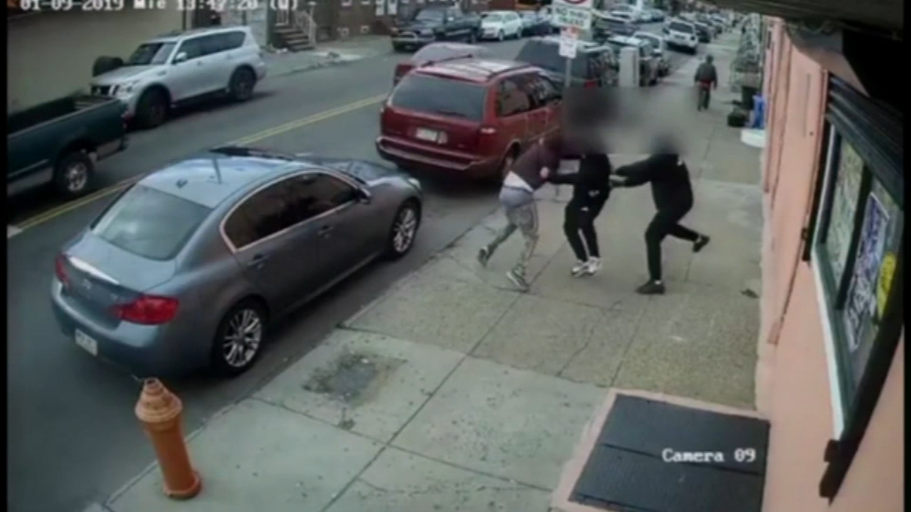 Surveillance video captures brazen daytime shooting: Bob Brooks reports on Action News at 5 p.m., January 16, 2019