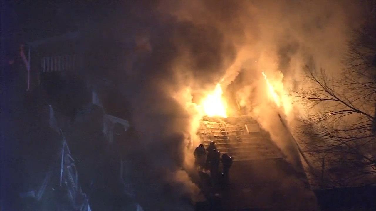 Fire hits same Trenton block a year later, 25 displaced. Gray Hall reports during Action News at 12:30 p.m. on January 16, 2019.