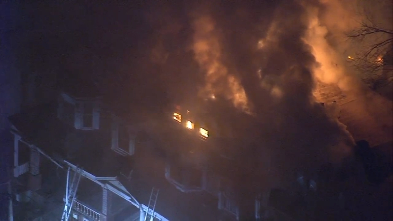 5 homes damaged in Trenton fire. Jeannette Reyes reports during Action News Mornings on January 16, 2019.