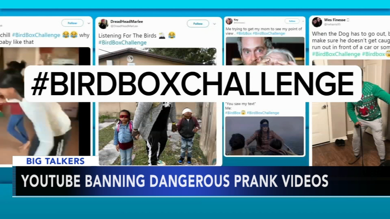 YouTube bans dangerous pranks or challenges on video. Alicia Vitarelli reports during Action News at 4:30 p.m. on January 16, 2019.
