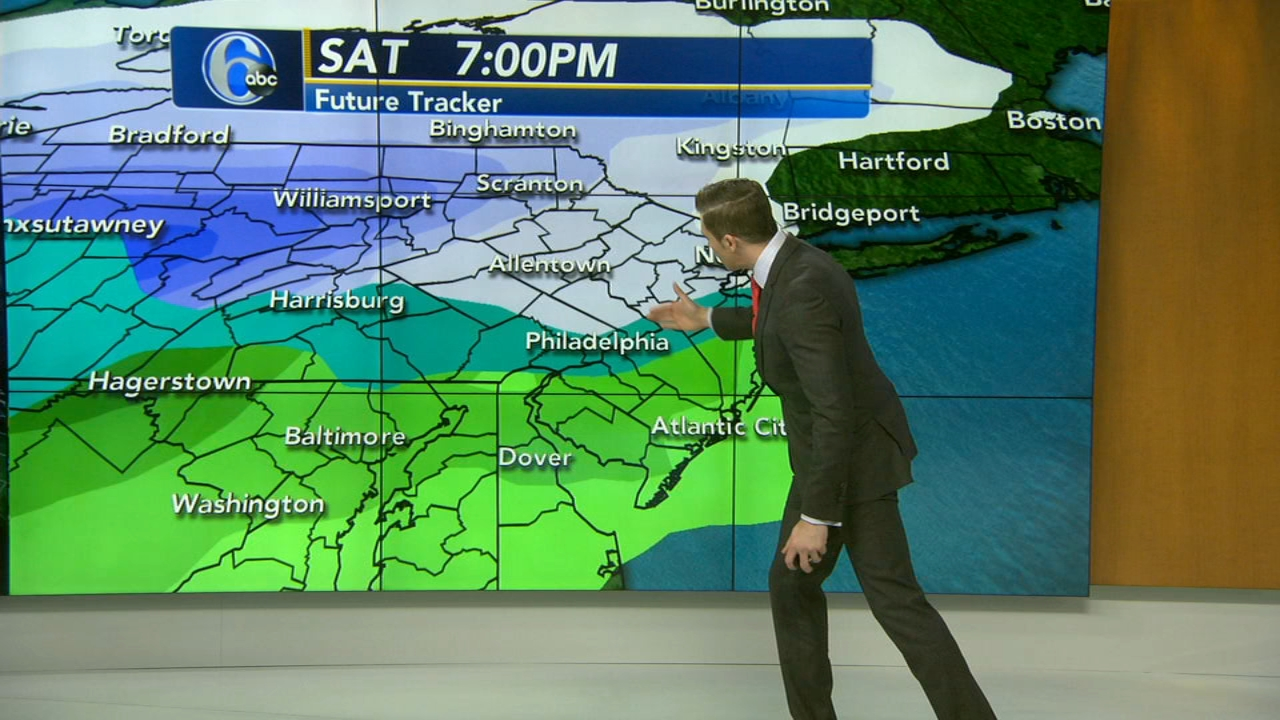 Adam Joseph has the latest from AccuWeather on Action News at 4 p.m. on January 17, 2019.